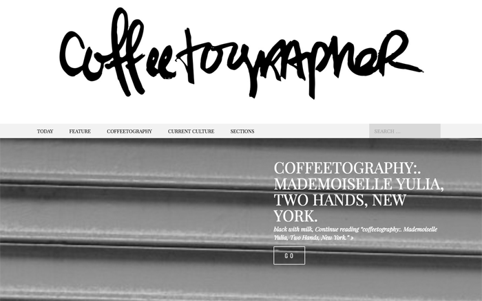 The Coffeetographer blog