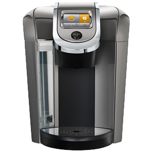if you are looking for a coffee maker for your whole family then k475 and k575 are the biggest and baddest machines that the keurig has to offer - Keurig Elite K45