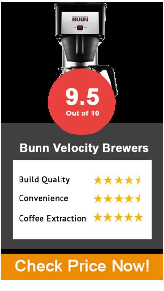 BUNN Velocity Brewers