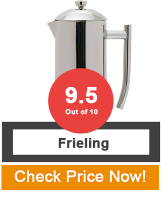 Frieling Usa best press coffee maker reviews tested top picks 2017