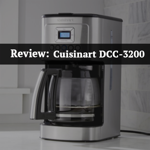 Cuisinart Coffee Maker Electrical Problems : Coffee Talks: Cuisinart DCC-3200 Coffee Maker Review