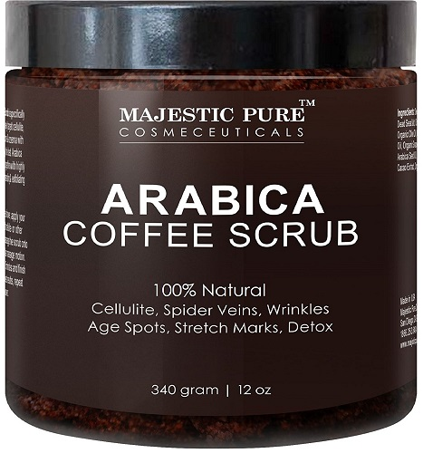 arabica coffee scrub image
