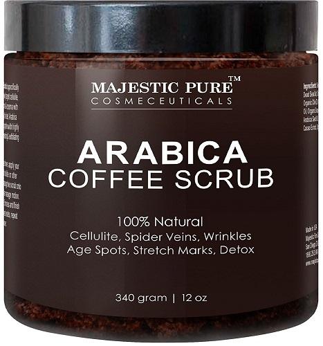 arabica coffee scrub image