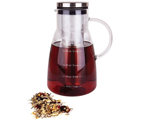 cold brew coffee maker & tea infuser carafe image